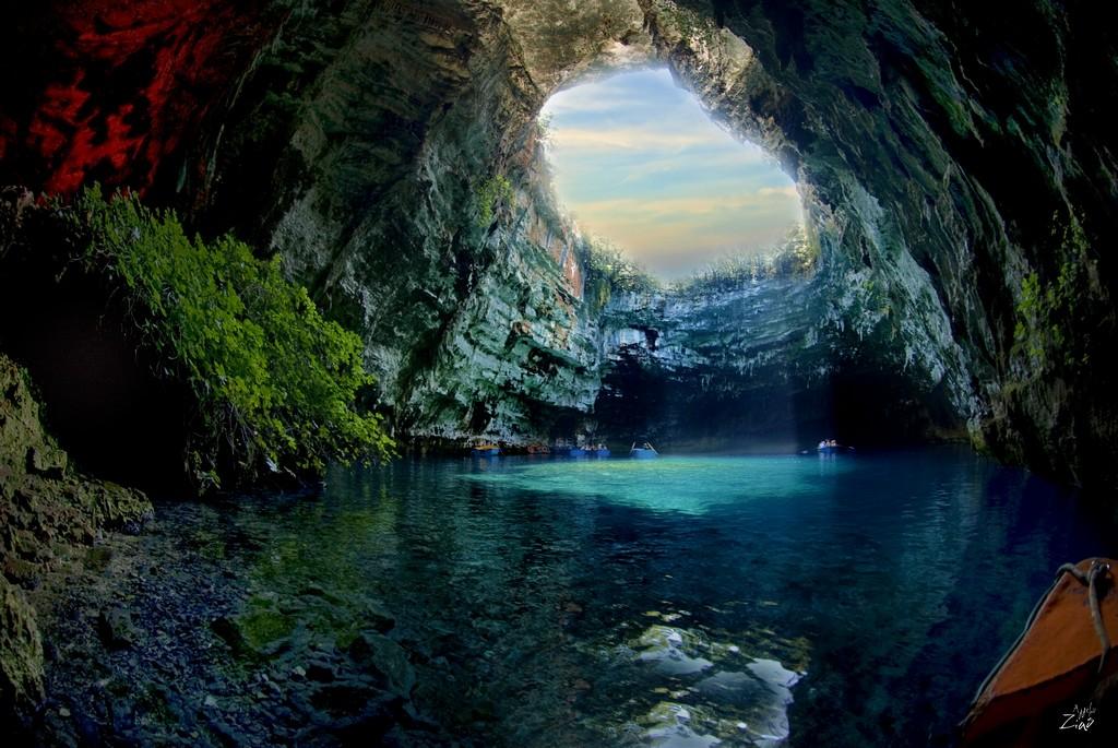 Melissani-barlang