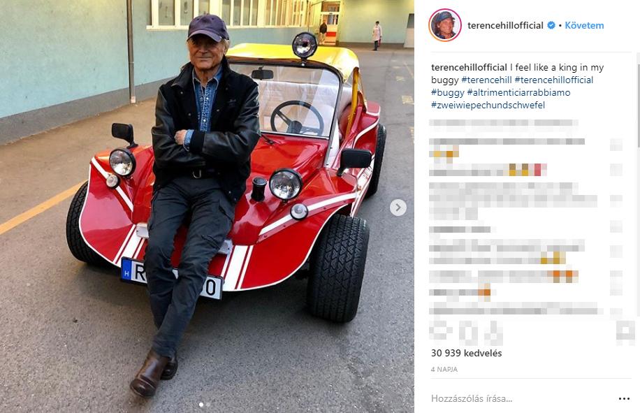 Titokban meglátogatta a Heim Pál Kórház kis betegeit Terence Hill - Ezért járt most itt a legendás színész