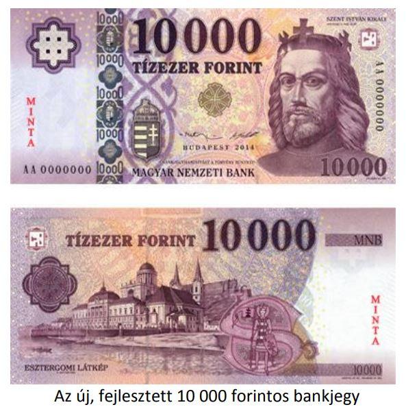 10 000 forintos bankjegy: Meddig használhatod még a régi tízezrest? - A Magyar Nemzeti Bank közleménye