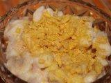 Gyümölcsös joghurt kukoricapehellyel
