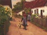 Falusi emlékek - vers a boldog gyermekkori nyaralásokról a nagyszülőknél