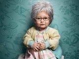 Elképesztő fotók! Gyerekek, akik egy óra alatt 60 évet öregedtek