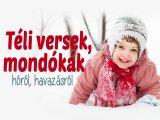 Téli versek, mondókák gyerekeknek - 5 vers a hóról, havazásról