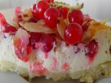 Ribizlis mascarponés szelet - Igazi nyári sütemény édesszájúaknak
