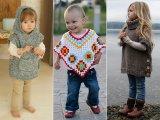 Kötött poncsó kislányoknak házilag - Fotókon 12 bűbájos ötlet, amit te is elkészíthetsz