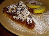 Diós almatorta - igazi őszi sütemény fahéjjal és porcukorral
