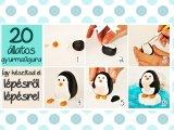 Cuki állatok gyurmából! - 20 állatos gyurmafigura elkészítése lépésről lépésre
