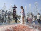 Fotók: ilyen menő az új vizes játszótér Budapesten! - Ide mindenképpen vidd el a gyereket idén, ha itt a kánikula