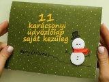 11 lenyűgöző karácsonyi képeslap házilag: Ezeket készítsd el a gyerekkel idén! - Lépésről lépésre videóval