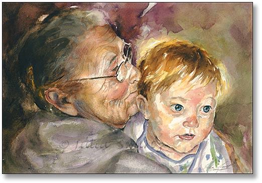 Mentovics Éva: A nagymama tavasza - vers