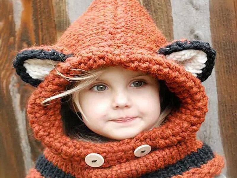 Kötött sapka és sál gyerekeknek - 8 tündéri ötlet, amit te is elkészíthetsz