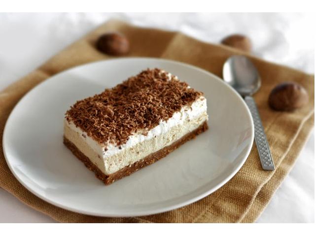 Sütemény recept: Gesztenyekocka