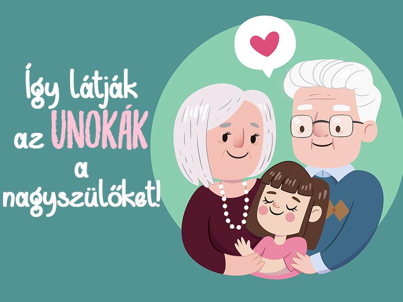 Így látják az unokák a nagyszüleiket! 13 gyermekien őszinte mondat a nagymamáról és nagypapáról