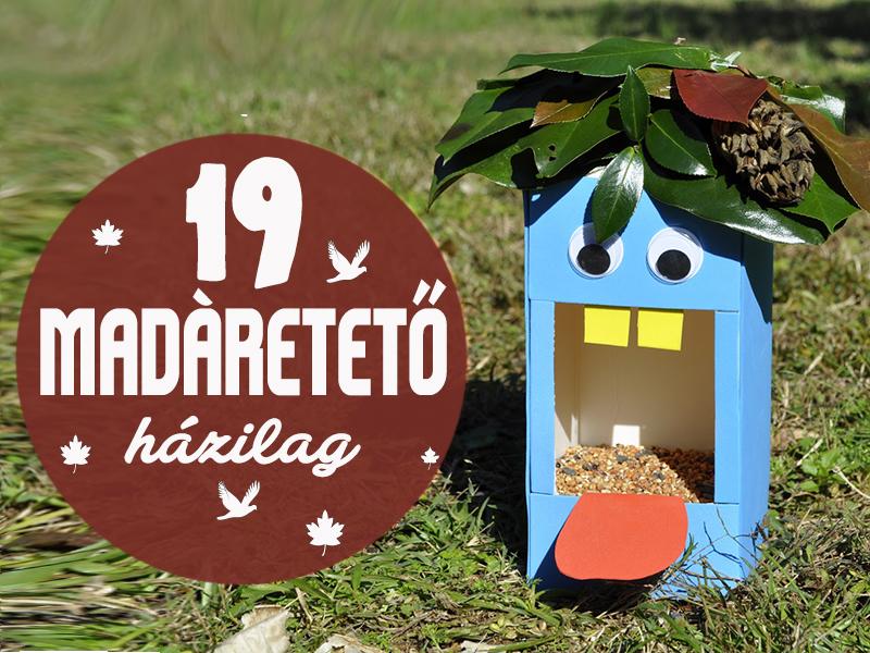 Fotókon 19 egyszerű, de látványos madáretető házilag - Készítsétek el együtt a gyerekkel!