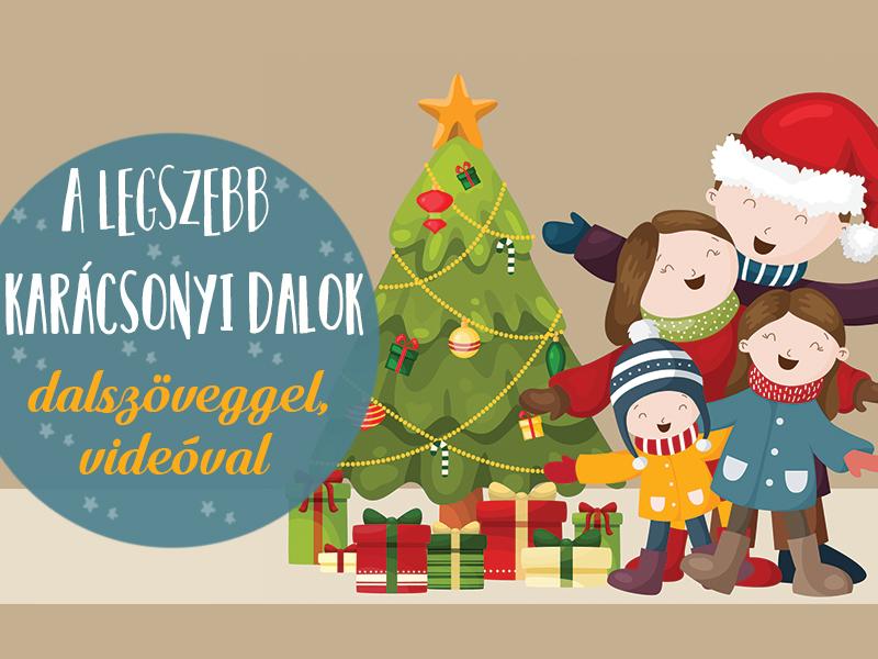 Karácsonyi dalok gyerekeknek: 20 közkedvelt karácsonyi dal szöveggel és videóval, amit tanítsd meg a gyereknek is!