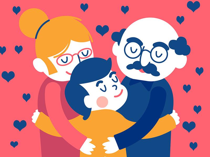 Tovább élnek azok a nagyszülők, akik sok időt töltenek az unokával - Most már tudományosan is bebizonyították!