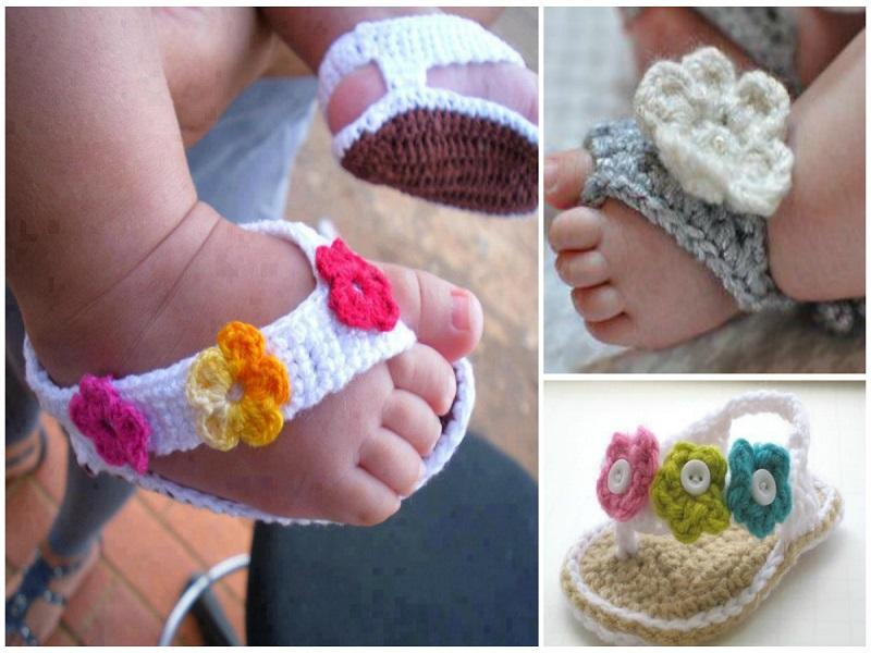Horgolt babacipők házilag: 15+1 tündéri babacipő és babaszandál, az apró babalábakra, fotókkal - Készítsd el az unokádnak!