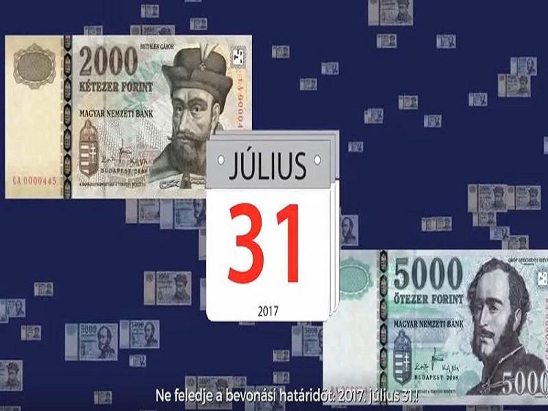 Régi 2000 és 5000 forintos bankjegy - már csak ma lehet velük fizetni!