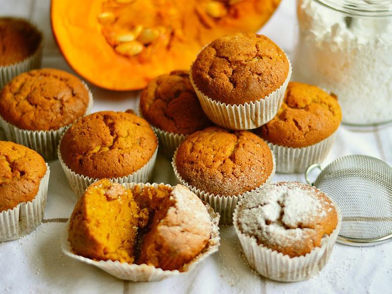 Sütőtökös muffin recept: Ha már unod a pürét, készíts a sütőtökből sütit - Babák is ehetik!