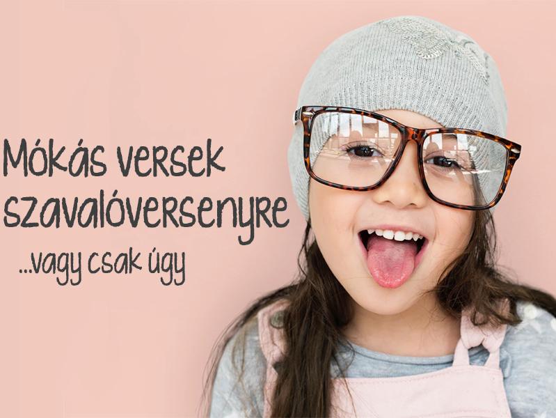 14 mókás vers szavalóversenyre, ha elszakadnátok a klasszikus gyerekversektől - Mentovics Éva versei