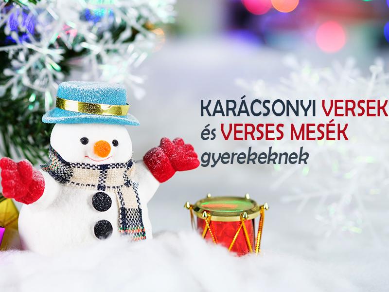 Karácsonyi versek és verses mesék gyerekeknek Aranyosi Ervin költőtől