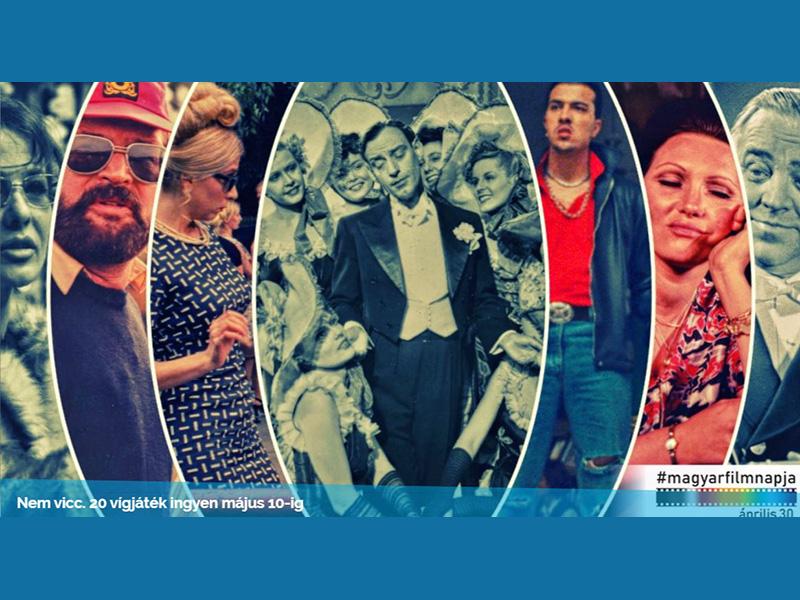 Vígjátékok 10 napig ingyen: 20 közkedvelt magyar vígjátékot nézhetsz meg a magyar film napja alkalmából