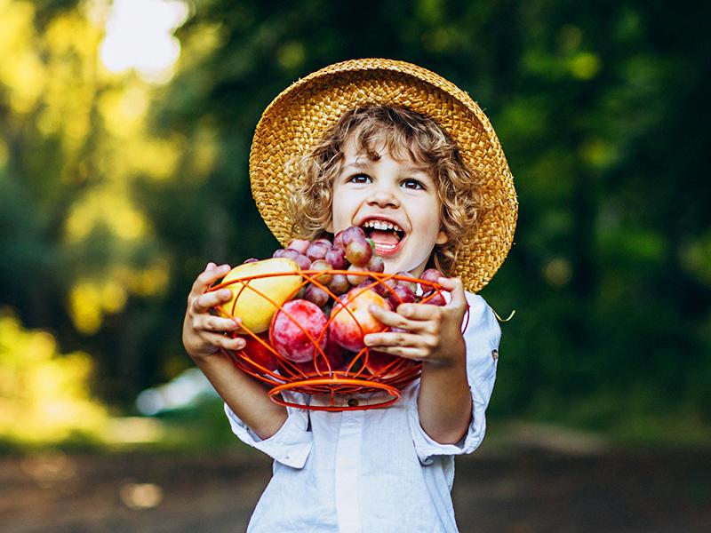 Fejlesztő játékok zöldségekkel, gyümölcsökkel: Így fejlődhet a gyerek kommunikációja, mozgása, számolási készsége