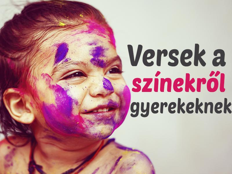 7 vers a színekről gyerekeknek - Így taníthatod meg könnyedén a színeket!